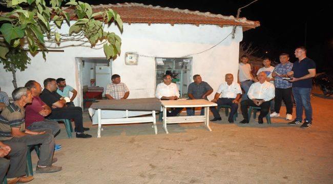 Beşiktepe Köyü'nde Başkan Ergin'e Sıcak Karşılama