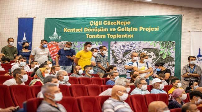 Çiğli Güzeltepe'de Yeni Bir Dünya Kurulacak