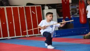 Yunusemre'de Wushu Kung Fu Sporu İlgi Görüyor