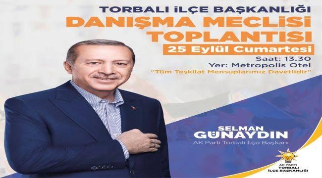 AKP İlçe Danışma Meclisi Toplantısı Düzenleyecek