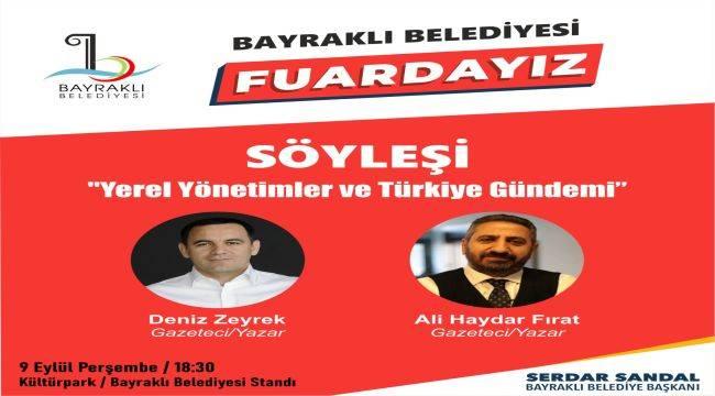 Deniz Zeyrek ve Ali Haydar Fırat İEF'TE İzmirlilerle Buluşuyor